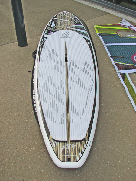 fanatic 2011 SUP wave fly