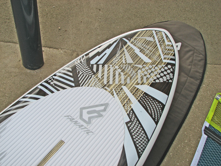 SUP fly wave fanatic 2011