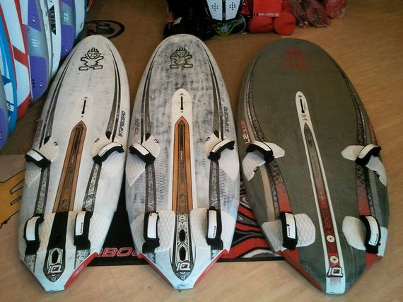 Starboard ISONIC Carbone 127 2011: 950 €  Starboard ISONIC Wood Carbone 111 2010: 690 €  Starboard ISONIC Wood Carbone 94 2010: 650 €
