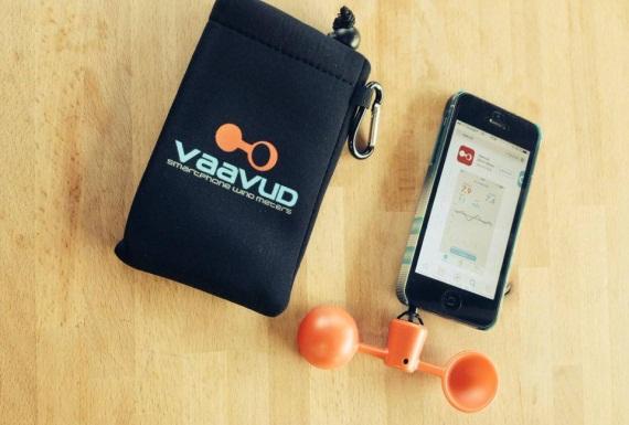 Idée cadeau : Anémomètre pour Smartphone Vaavud
