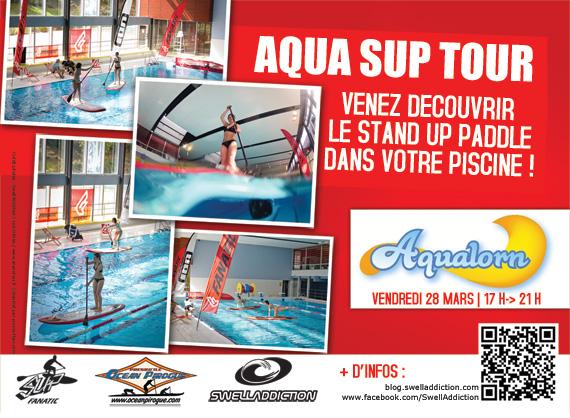 Evénement : Aqua SUP Tour à l'Aqualorn le 27/03