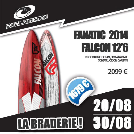 Braderie Jour 3 : Fanatic Falcon 12'6 2014