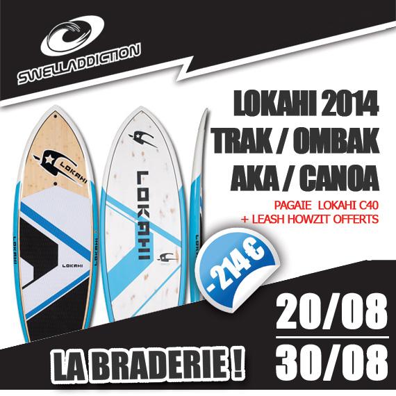 Braderie Jour 6 : Pack Lokahi 2014