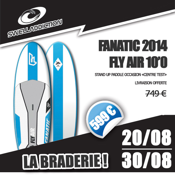 Braderie Jour 8 : Fly Air 10'0 2014 OKZ