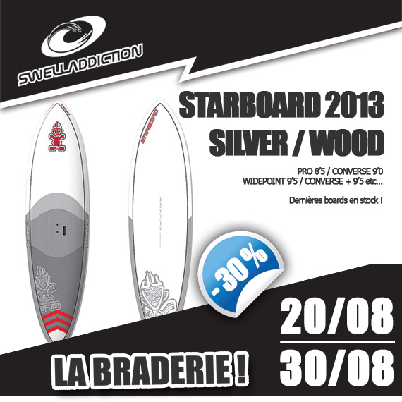 Braderie Jour 9 : Starboard SUP 2013